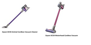 d Dyson DC59 Animal Cordless Vacuum Cleaner